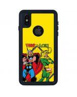 Thor vs Loki iPhone X Waterproof Case