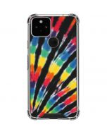 Tie Dye - Rainbow Google Pixel 5 Clear Case