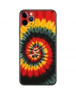 Tie Dye - Rasta Spiral iPhone 11 Pro Max Skin