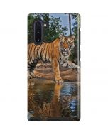 Tiger Cubs Playing at a Waterhole Galaxy Note 10 Pro Case
