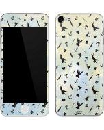 Tinker Bell Fairy Size Pattern Apple iPod Skin