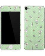 Tinker Bell Trinkets Pattern Apple iPod Skin