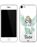 Tinker Bell Watercolor Fairy Apple iPod Skin