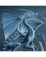 Silver Dragon Playstation 3 & PS3 Skin