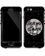 To The Moon And Back BW LifeProof Nuud iPhone Skin