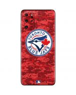 Toronto Blue Jays Digi Camo Galaxy S20 Plus Skin