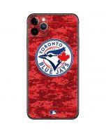 Toronto Blue Jays Digi Camo iPhone 11 Pro Max Skin
