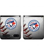 Toronto Blue Jays Game Ball Galaxy Z Flip Skin