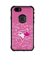 Toronto Blue Jays Pink Cap Logo Blast iPhone 6/6s Waterproof Case