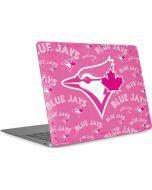 Toronto Blue Jays Pink Cap Logo Blast Apple MacBook Air Skin