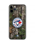 Toronto Blue Jays Realtree Xtra Green Camo iPhone 11 Pro Skin