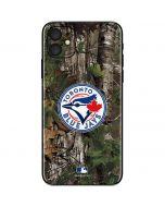 Toronto Blue Jays Realtree Xtra Green Camo iPhone 11 Skin