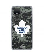 Toronto Maple Leafs Camo Google Pixel 4 XL Clear Case