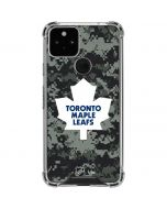 Toronto Maple Leafs Camo Google Pixel 5 Clear Case