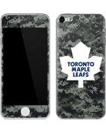 Toronto Maple Leafs Camo Apple iPod Skin