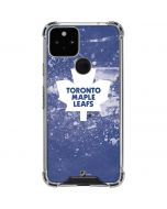Toronto Maple Leafs Frozen Google Pixel 5 Clear Case