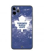 Toronto Maple Leafs Frozen iPhone 11 Pro Max Skin
