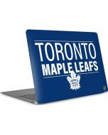 Toronto Maple Leafs Lineup Apple MacBook Air Skin