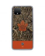 Toronto Maple Leafs Realtree Max-5 Camo Google Pixel 4 XL Clear Case