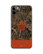 Toronto Maple Leafs Realtree Max-5 Camo iPhone 11 Pro Max Skin