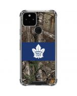 Toronto Maple Leafs Realtree Xtra Camo Google Pixel 5 Clear Case