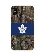 Toronto Maple Leafs Realtree Xtra Camo iPhone XS Max Lite Case