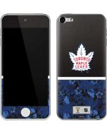 Toronto Maple Leafs Retro Tropical Print Apple iPod Skin