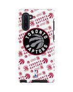 Toronto Raptors Logo Blast Galaxy Note 10 Pro Case
