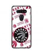 Toronto Raptors Logo Blast LG K51/Q51 Clear Case