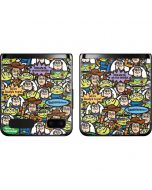 Toy Story Characters Galaxy Z Flip Skin