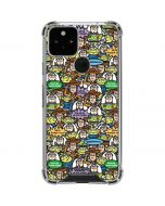 Toy Story Characters Google Pixel 5 Clear Case