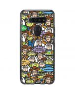 Toy Story Characters LG K51/Q51 Clear Case