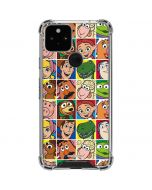Toy Story Collage Google Pixel 5 Clear Case