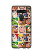 Toy Story Collage LG K51/Q51 Clear Case