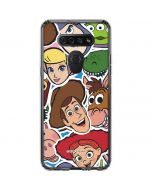 Toy Story Outline LG K51/Q51 Clear Case
