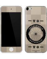 TransWorld Motocross Checkered Pattern Apple iPod Skin