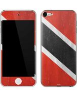 Trinidad and Tobagao Flag Distressed Apple iPod Skin