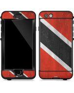 Trinidad and Tobagao Flag Distressed LifeProof Nuud iPhone Skin