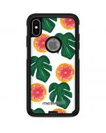 Tropical Leaves and Citrus Otterbox Commuter iPhone Skin