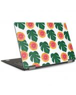 Tropical Leaves and Citrus Dell XPS Skin
