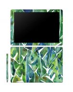 Tropical Leaves Galaxy Book 12in Skin