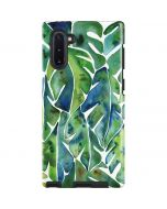Tropical Leaves Galaxy Note 10 Pro Case