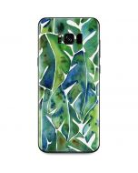 Tropical Leaves Galaxy S8 Plus Skin