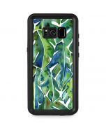 Tropical Leaves Galaxy S8 Plus Waterproof Case