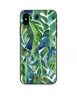 Tropical Leaves iPhone X Skin