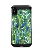 Tropical Leaves iPhone XS Max Cargo Case