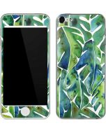 Tropical Leaves Apple iPod Skin