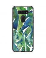 Tropical Leaves LG K51/Q51 Clear Case