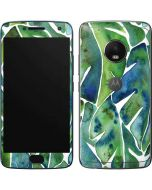 Tropical Leaves Moto G5 Plus Skin