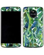 Tropical Leaves Moto X4 Skin